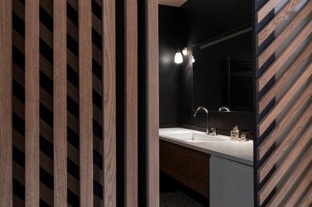 Современный Ванная комната by Agence Glenn Medioni