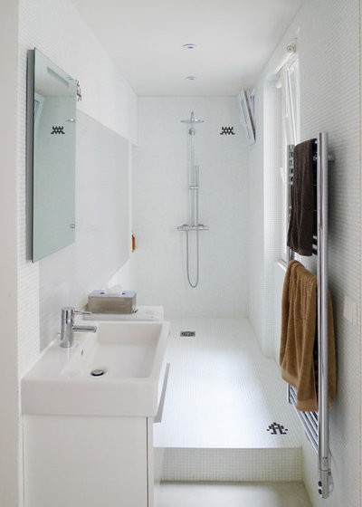 Contemporain Salle de Bain by mars architectes