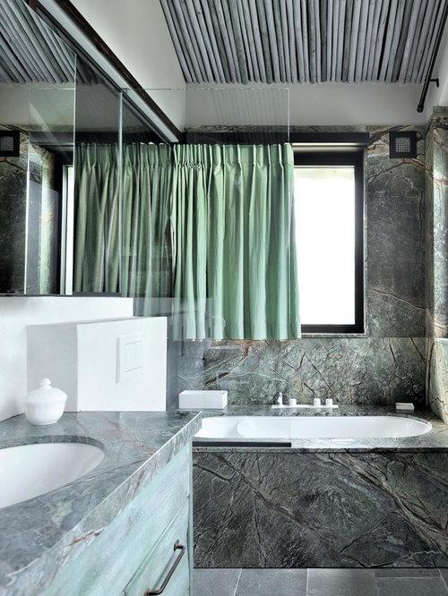 salle de bain moderne : photos et idées déco de salles de bain - Photo De Salle De Bain Moderne