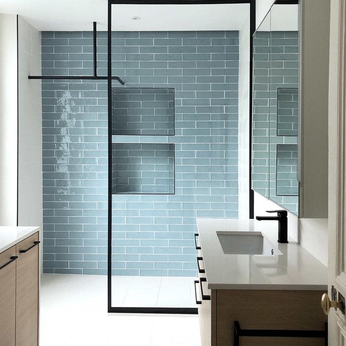 Rénovation d'une salle de bains et d'un bureau dans l'est Parisien