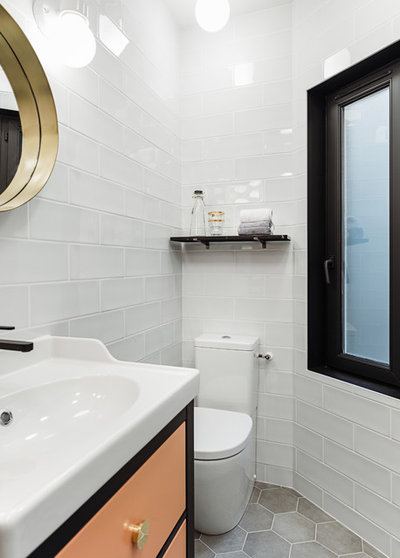 Modern Badezimmer by DECODHEURE