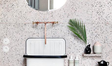 20 hjem med trendy terrazzo, som vi er vilde med
