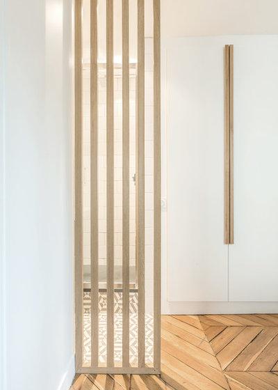 Contemporain Salle de Bain by atelier daaa