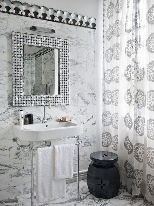 Salle de bain classique photos et id es d co de salles - Taille salle de bain ...