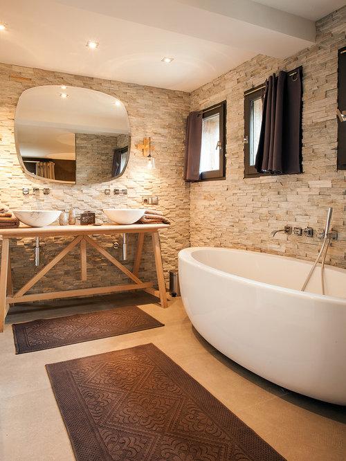 Idées de salles de bain avec baignoire : Photos et idées déco