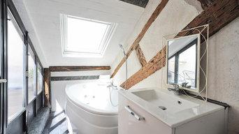 Création de duplex avec construction de terrasse