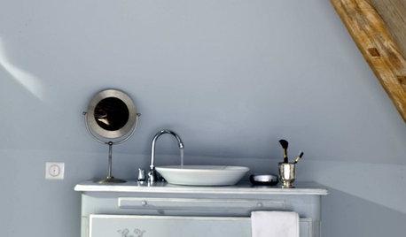 Transforma un mueble reciclado en el soporte del lavabo