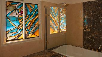 Décoration intérieur en verre