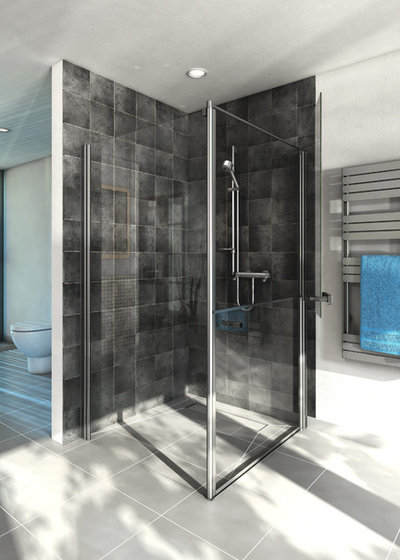 Moderno Stanza da Bagno by AKW International