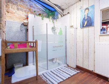 Duplex mezzanine vintage/industriel