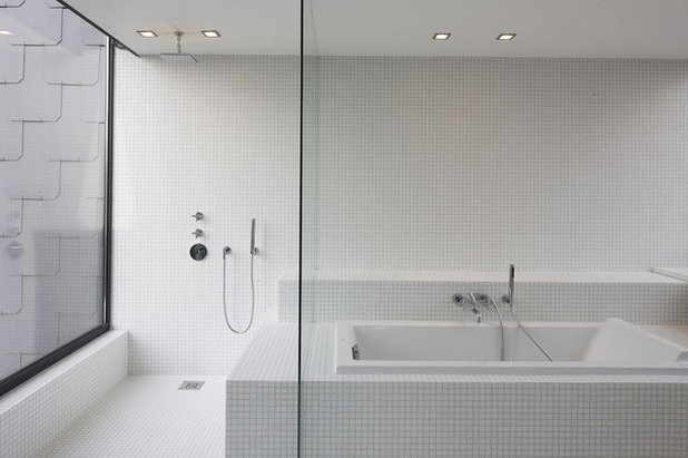 Contemporain Salle de Bain by Guillaume DA SILVA