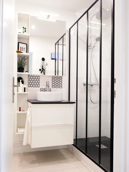 Petite salle de bain photos id es d co et am nagement for Petit placard salle de bain
