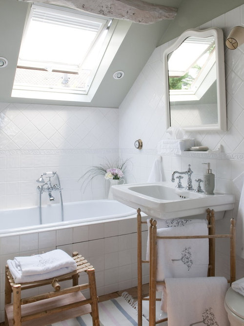 Country French Bathroom Design Ideas Remodels Photos With A Drop In