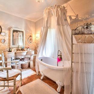 Shabby-Chic-Style Badezimmer in Frankreich Ideen, Design ...