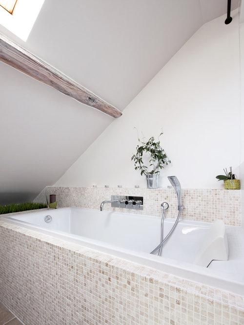 Salle de bain mosaique beige beau faience salle de bain chocolat beige with salle de bain - Piscine mosaique prix argenteuil ...