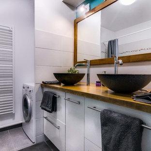 Salle de bain avec une baignoire encastrée Toulouse : Photos et ...