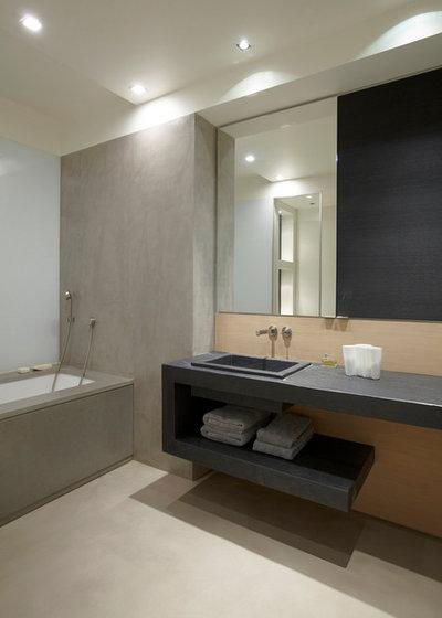 Bagno in ardesia come scegliere pavimenti e rivestimenti - Top bagno ardesia ...