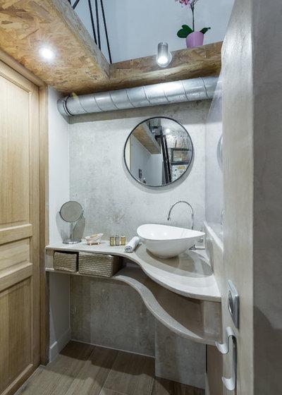 Modern Badezimmer by Franck Minieri, Photographer