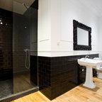 la belle poque flat in madrid baignoire contempor neo cuarto de ba o par s de mike. Black Bedroom Furniture Sets. Home Design Ideas