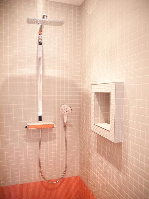 Salle de bain photos et id es d co de salles de bain for Carrelage suresnes