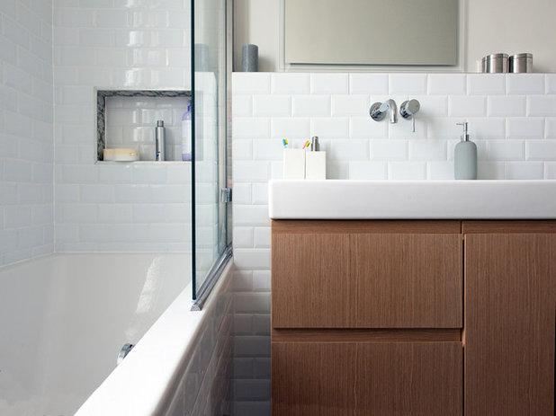 secrets de houzzers vos astuces pour nettoyer la salle de bains. Black Bedroom Furniture Sets. Home Design Ideas