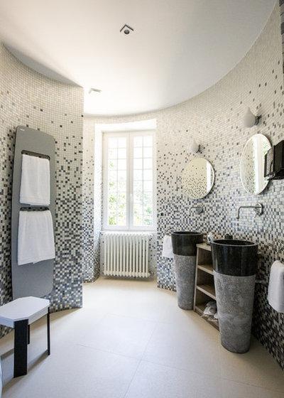 Contemporain Salle de Bain by A3Design