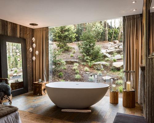 Salle de bain de luxe photos et id es d co de salles de bain - Taille moyenne salle de bain ...