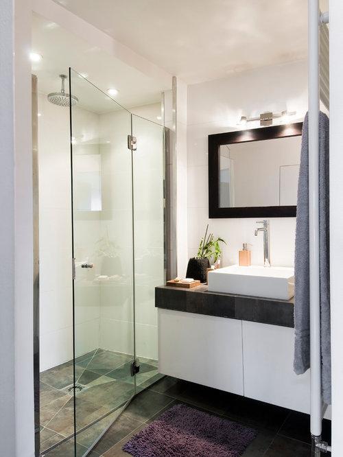 salle de bain contemporaine photos et id es d co de salles de bain. Black Bedroom Furniture Sets. Home Design Ideas