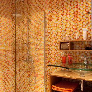 Réalisation d'une salle de bain design pour enfant.