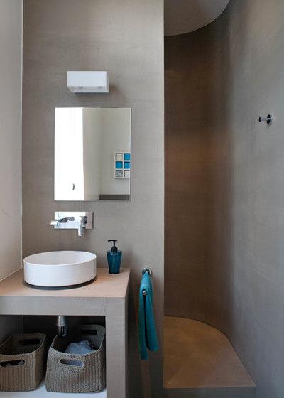 12 astuces gain de place pour optimiser une petite salle de bains. Black Bedroom Furniture Sets. Home Design Ideas