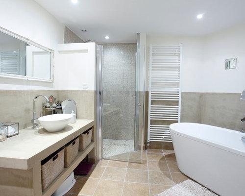 Salle De Bain Photos Et Idées Déco De Salles De Bain - Une salle de bain com