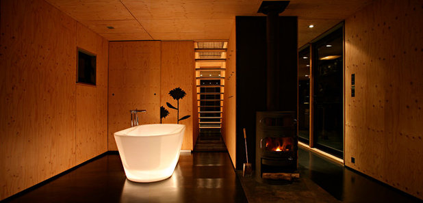 Contemporary Bathroom by Lode Architecture