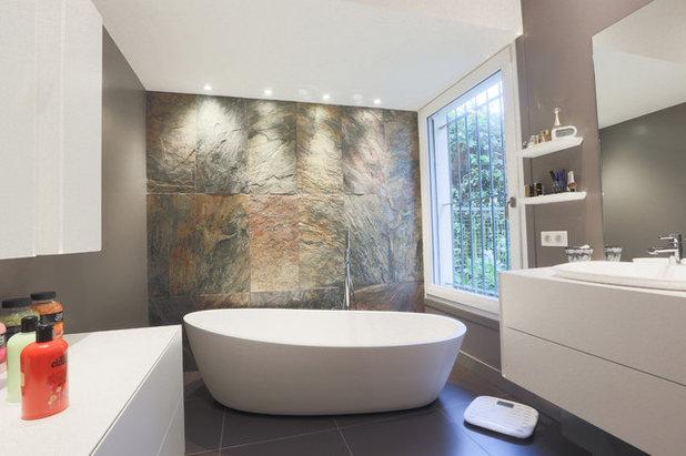 Bagno in ardesia: come scegliere pavimenti e rivestimenti