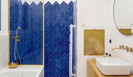 Comment agrandir une petite salle de bains grâce à la couleur ?