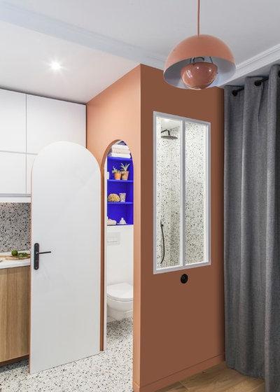 Модернизм Ванная комната by AGENCE MARN DCO