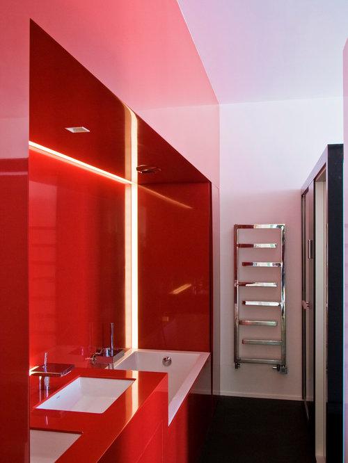 Petite salle de bain photos id es d co et am nagement - Petite salle d eau avec douche ...