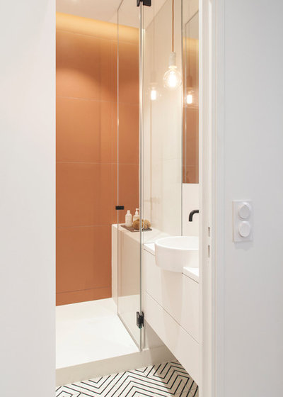 Skandinavisch Badezimmer by atelier daaa