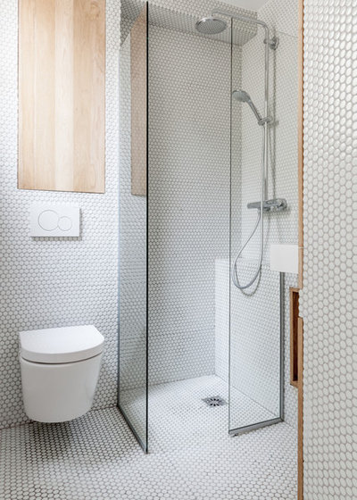 Contemporain Salle de Bain by CORE ARCHITECTURES