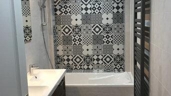 Nouvelle salle de bain rénovée par notre équipe