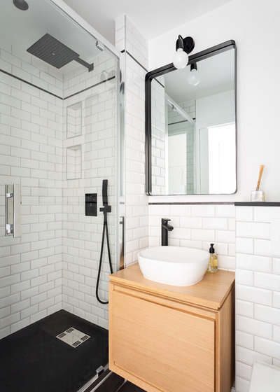 Contemporain Salle de Bain by Mon Concept Habitation | Paris, Lille, London