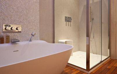Entretien comment nettoyer le verre de mani re efficace - Amenager une salle de bain de 6m2 ...