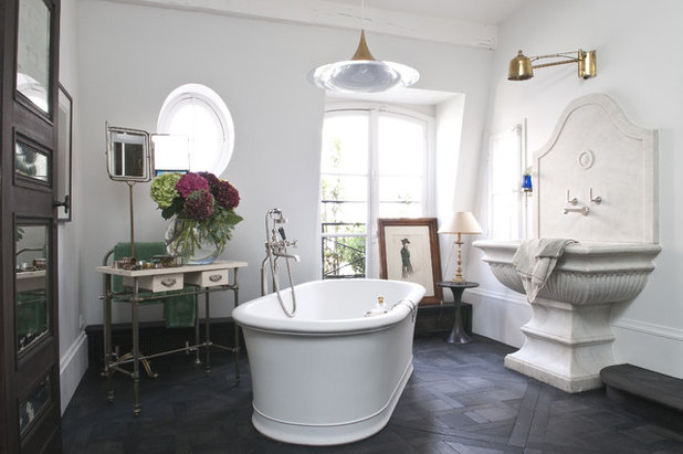 Eclectic Bathroom by d.mesure - Elodie Sire