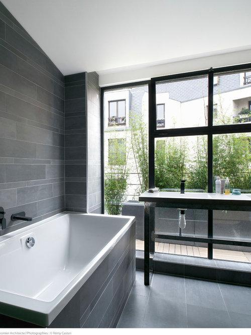 salle de bain photos et id es d co de salles de bain. Black Bedroom Furniture Sets. Home Design Ideas