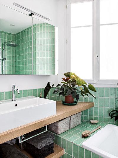 Contemporary Bathroom by Pamela Martin