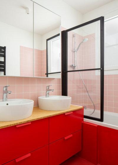Contemporary Bathroom by Ercole Salinaro Photography