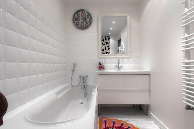 10 jolies baignoires pour tirer parti d 39 une petite salle for Petite salle de bain avec douche et baignoire