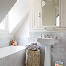 Transitional Bathroom by A+B KASHA Designs