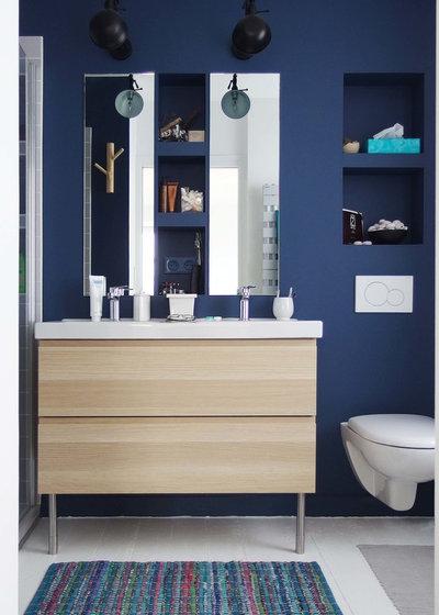 Color en el baño: Opta por el azul para un ambiente fresco ...
