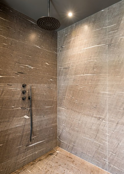 Contemporain Salle de Bain by La Fable