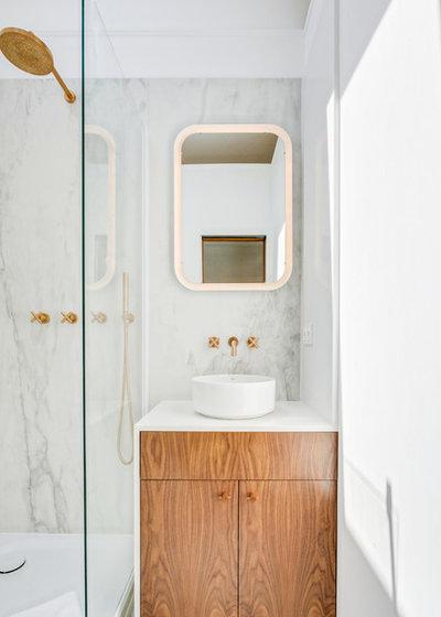 Contemporain Salle de Bain by Loft 75 - Design & Architecture d'Intérieur